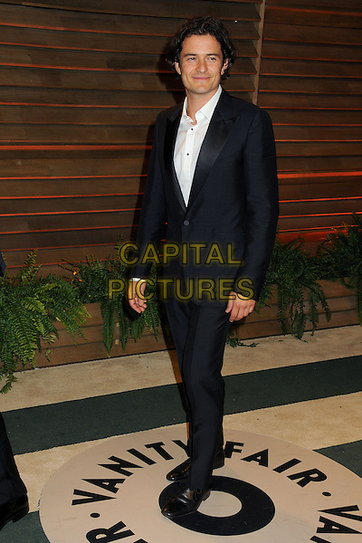 02 March 2014 - West Hollywood, California - Orlando Bloom. 2014 Vanity Fair Oscar Party following the 86th Academy Awards held at Sunset Plaza. <br /> CAP/ADM/BP<br /> &copy;Byron Purvis/AdMedia/Capital Pictures