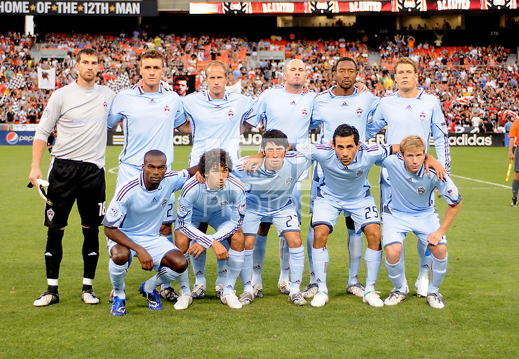Colorado Rapids Starting Eleven . DC United defeated the Colorado Rapids 3-1  at  RFK Stadium, Saturday July 18, 2009.