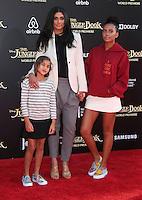 "04 April 2016 - Hollywood, California - Tallulah Ruth Dash, Rachel Roy, Ava Dash. ""The Jungle Book"" Los Angeles Premiere held at the El Capitan Theatre. Photo Credit: Sammi/AdMedia"