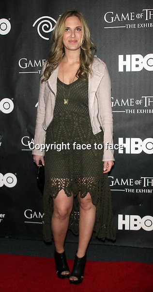 "NEW YORK, NY - MARCH 27: Melissa Bushell at the ""Game Of Thrones"" The Exhibition New York Opening at 3 West 57th Avenue on March 27, 2013 in New York City...Credit: MediaPunch/face to face..- Germany, Austria, Switzerland, Eastern Europe, Australia, UK, USA, Taiwan, Singapore, China, Malaysia and Thailand rights only -"