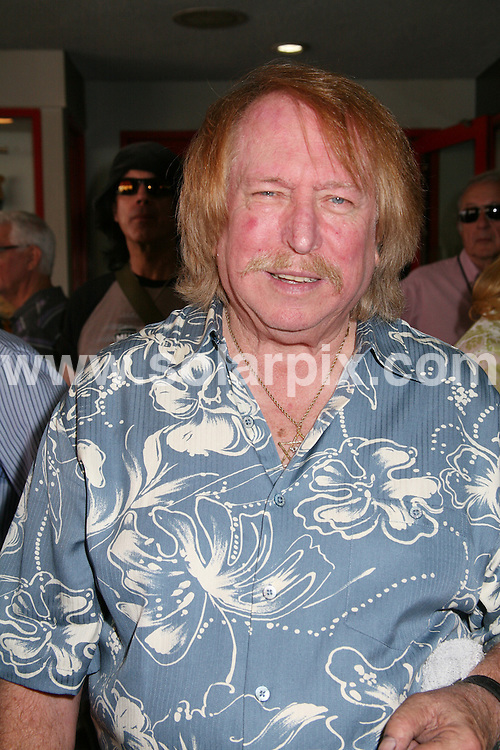 **ALL ROUND PICTURES FROM SOLARPIX.COM**.**SYNDICATION RIGHTS FOR UK, SPAIN, PORTUGAL, AUSTRALIA, S.AFRICA & DUBAI (U.A.E) ONLY**.The Wrecking Crew Induction Into Hollywood's Rock Walk at the Guitar Centre in  Los Angeles California in the USA..This pic:Don Randi..JOB REF:6735-PHZ/Tony Lowe         DATE:25_06_08 .**MUST CREDIT SOLARPIX.COM OR DOUBLE FEE WILL BE CHARGED* *UNDER NO CIRCUMSTANCES IS THIS IMAGE TO BE REPRODUCED FOR ANY ONLINE EDITION WITHOUT PRIOR PERMISSION*