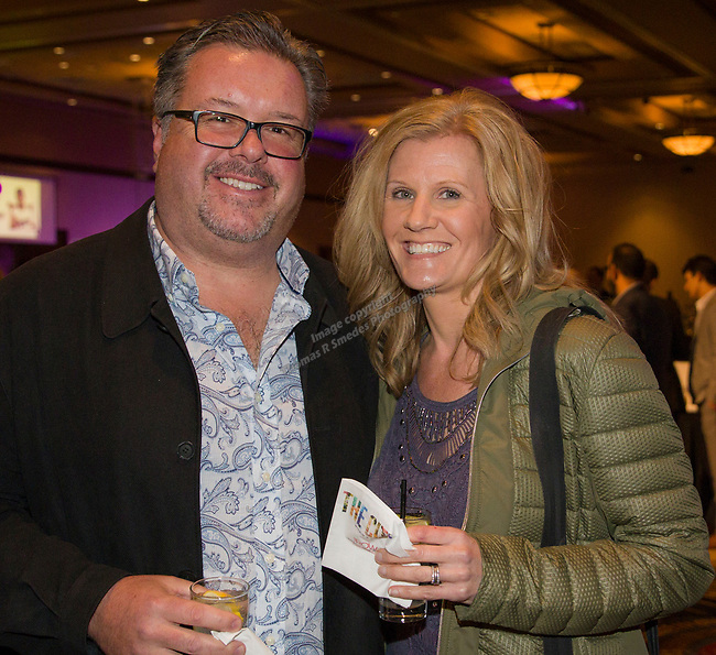 Richard and Micki Lace during the 35th Annual Bobby Dolan Baseball Dinner in the Reno Ballroom on Thursday, January 17, 2019.