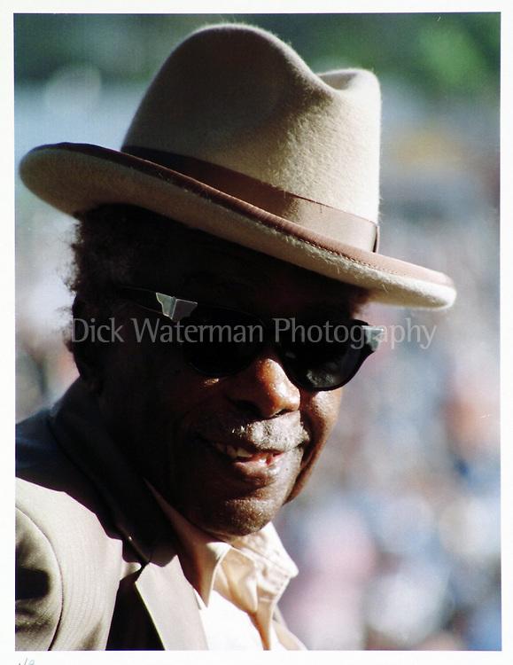 John Lee Hooker, Santa Cruz 1996 Color