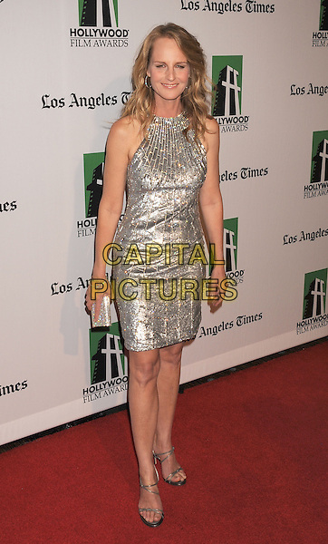 Helen Hunt.16th Annual Hollywood Film Awards Gala held at the Beverly Hilton Hotel, Beverly Hills, California, USA..October 22nd, 2012.full length silver sleeveless dress .CAP/ROT/TM.©Tony Michaels/Roth Stock/Capital Pictures