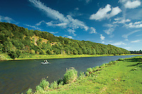 The River Tweed at Norham, Northumberland
