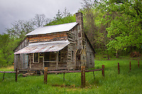 The Parker-Hickman Homestead along the Buffalo National River in Arkansas is listed on the National Register of Historic Places. The Parker-Hickman Farm is the oldest existing homestead on the Buffalo River.