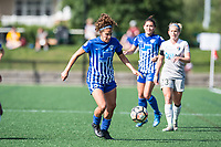 Boston, MA - Saturday June 24, 2017: Angela Salem during a regular season National Women's Soccer League (NWSL) match between the Boston Breakers and the North Carolina Courage at Jordan Field.