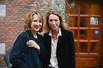 Nathalie Baye and her daughter Laura Smet before the Opening Ceremony of the Festival International of Film Francophone in Namur in Belgium.  2 october 2015, Namur, Belgium
