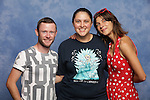 Natalia Tena and Devon Murray