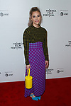 Creator and showrunner Lisa Hanawalt arrives at the Tuca & Bertie world premiere on Wednesday May 1, 2019 during the Tribeca Film Festival 2019; at The Marriott Bonvoy Boundless Theater from Chase in Spring Studios.