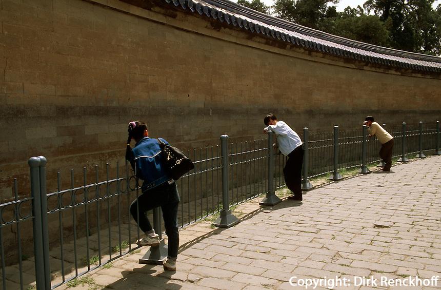 China, Peking, Himmelstempel, EchomauerPeking, Unesco-Weltkulturerbe