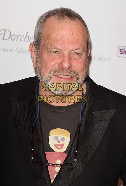 Terry Gilliam.South Bank Sky Arts Awards at the Dorchester Hotel, Park Lane, London, England..May 1st 2012.headshot portrait black beard facial hair  .CAP/ROS.©Steve Ross/Capital Pictures