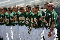 March 14, 2010:  North Dakota State University Bison vs. Akron University at Chain of Lakes Park in Winter Haven, FL.  Photo By Mike Janes/Four Seam Images
