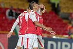 Santa Fe vencio 2x1 a los Patriotas en la liga postobon del torneo finalizacion del futbol colombiano