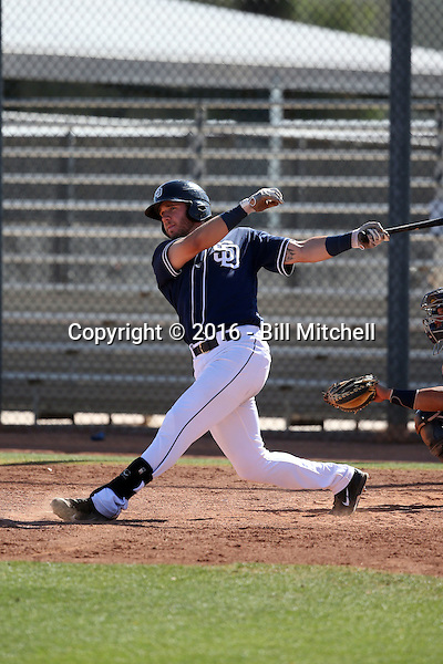 Nick Schulz - San Diego Padres 2016 spring training (Bill Mitchell)