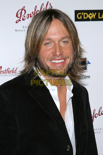 KEITH URBAN.G'Day LA Penfolds Black Tie Gala at the Century Plaza Hotel, Century City, California..Photo credit: Jacqui Wong/AdMedia.January 13th, 2004.headshot, portrait, beard, stubble, facial hair.www.capitalpictures.com.sales@capitalpictures.com.© Capital Pictures.