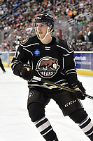 HERSHEY, PA - JANUARY 05: Hershey Bears center Mike Sgarbossa (17) skates in the offensive zone during the Grand Rapids Griffins vs. Hershey Bears AHL game at the Giant Center in Hershey, PA. (Photo by Randy Litzinger/Icon Sportswire)