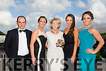 Jerry Burns, Edel Lawlor, Rita Fitzgibbon, Clodagh O'Sullivan and Brogan O'Sullivan at the Connect Magazine Ladies business awards 2015 at Ballyroe Heights Hotel on Friday