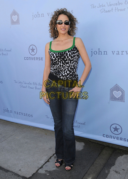 MELINA KANAKAREDES.attends The John Varvatos 6th Annual Stuart House Benefit held at John Varvatos Boutique in West Hollywood, California, USA, March 09 2008.                                                                     full length.CAP/DVS.??Debbie VanStory/Capital Pictures