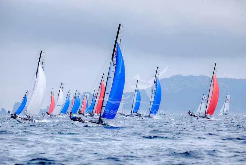 ISAF Sailing World Cup Hyères - Fédération Française de Voile. Nacra17.