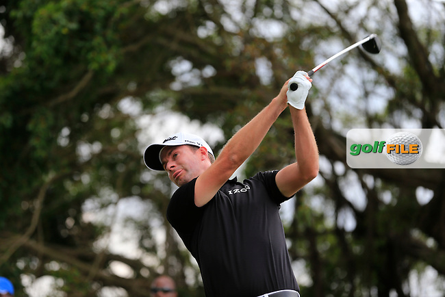Webb Simpson (USA) during the 3rd round at the WGC Cadillac Championship, Blue Monster, Trump National Doral, Doral, Florida, USA<br /> Picture: Fran Caffrey / Golffile