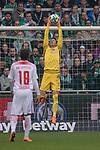 15.04.2018, Weser Stadion, Bremen, GER, 1.FBL, Werder Bremen vs RB Leibzig, im Bild<br /> <br /> Jiri Pavlenka (Werder Bremen #1)<br /> <br /> Foto &copy; nordphoto / Kokenge