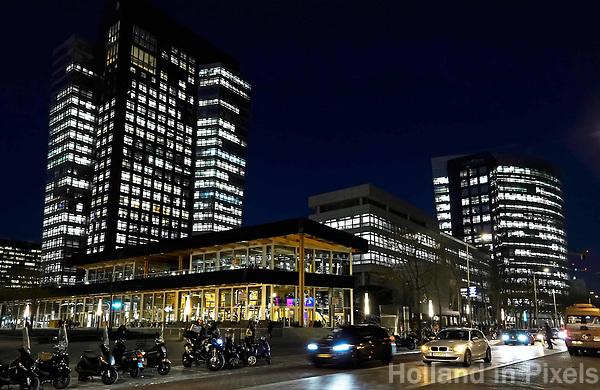 Nederland - Amsterdam - 2019. Kantoor van ABN-AMRO op de Zuidas. Foto Berlinda van Dam / Hollandse Hoogte