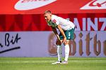 enttäuscht / enttaeuscht / traurig, Ludwig Augustinsson (Werder Bremen #05)<br /> <br /> <br /> Sport: nphgm001: Fussball: 1. Bundesliga: Saison 19/20: 33. Spieltag: 1. FSV Mainz 05 vs SV Werder Bremen 20.06.2020<br /> <br /> Foto: gumzmedia/nordphoto/POOL <br /> <br /> DFL regulations prohibit any use of photographs as image sequences and/or quasi-video.<br /> EDITORIAL USE ONLY<br /> National and international News-Agencies OUT.