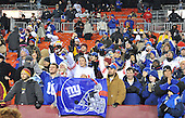 Landover, MD - December 21, 2009 -- New York Giants fans celebrate their team's 45 - 12 victory over the Washington Redskins at FedEx Field in Landover, Maryland on Monday, December 21, 2009.  .Credit: Ron Sachs / CNP.(RESTRICTION: NO New York or New Jersey Newspapers or newspapers within a 75 mile radius of New York City)