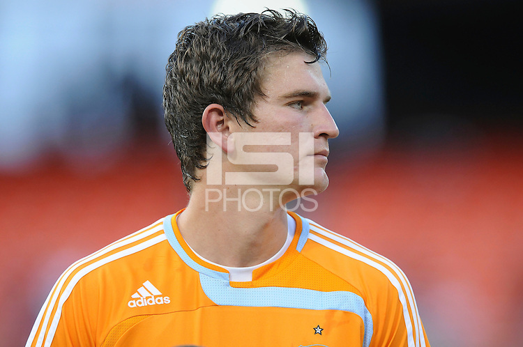 Houston Dynamo defender Bobby Boswell (32),The Houston Dynamo defeated DC United 3-1 to secure their place in  the SuperLiga semifinals, at RFK Stadium in Washington DC, Saturday July 19, 2008.