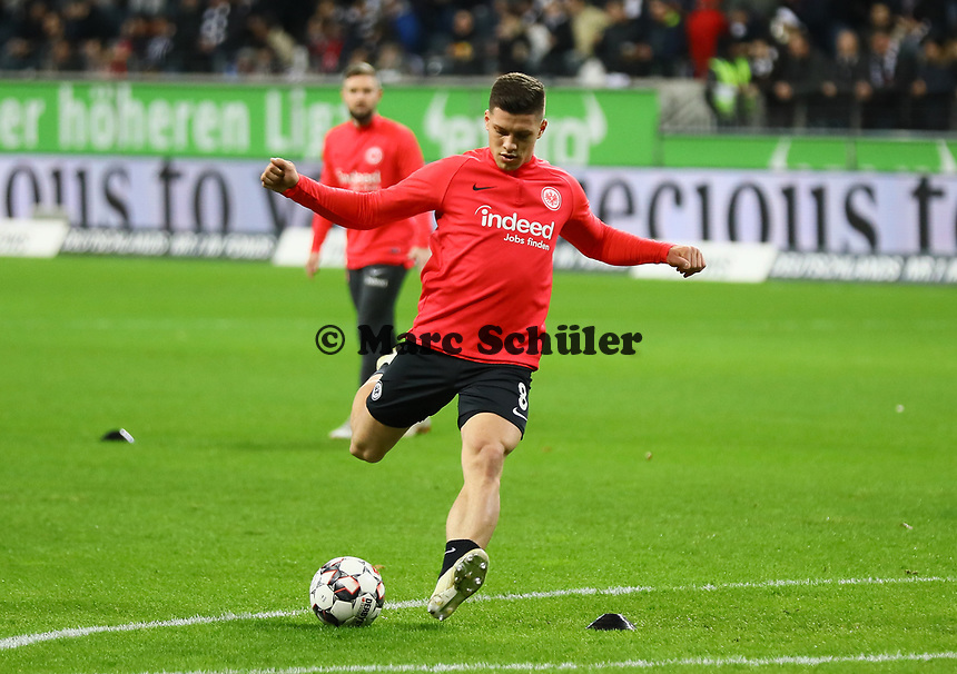 Luka Jovic (Eintracht Frankfurt) - 22.12.2018: Eintracht Frankfurt vs. FC Bayern München, Commerzbank Arena, DISCLAIMER: DFL regulations prohibit any use of photographs as image sequences and/or quasi-video.
