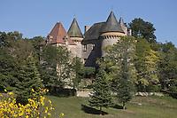 Europe/France/Midi-Pyrénées/46/Lot/Montclera: Le Château