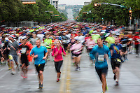 The Capitol 10,000 is a favorite health race and fitness run held every spring in downtown Austin, Texas.