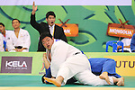 Takeshi Ojitani (JPN), .April 21, 2013 - Judo : .Asian Judo Championships 2013, Men's Team Competition .at Bangkok Youth Centre, Bangkok, Thailand. .(Photo by Daiju Kitamura/AFLO SPORT) [1045]