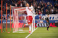 HARRISON, NJ - Monday October 30, 2017: The New York Red Bulls take on Toronto FC at home at Red Bull Arena during the Audi 2017 MLS Cup Playoffs Eastern Conference Semi-Final.