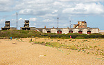 Landguard Fort historic military building from Napoleonic period and Second World war, Felixstowe, England, UK