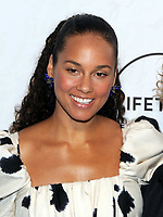 NEW YORK, NY - APRIL 13: Alicia Keys at Variety's Power Of Women: New York at Cipriani Wall Street in New York City on April 13, 2018. <br /> CAP/MPI/JP<br /> &copy;JP/MPI/Capital Pictures