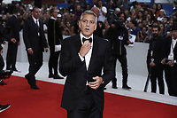 VENICE, ITALY - September 2nd: George Clooney  attends the red carpet during 74th Venice Film Festival at Palazzo Del Cinema on September 2nd,, 2017 in Venice, Italy. (Mark Cape/insidefoto)