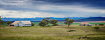 The magnificent New England countryside about 4-5 hours north-west of Sydney in Australia. This view is not far from the town of Quirindi.