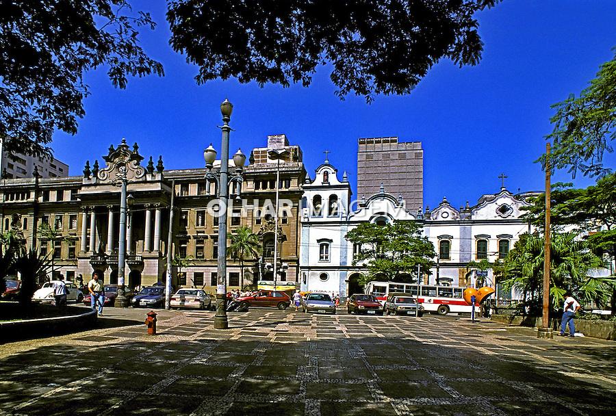 largo de São Francisco. São Paulo. 2002. Foto de Juca Martins.