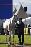 Stamford, Lincolnshire, United Kingdom, 4th September 2019, Oliver Townend (GB) & Ballaghmor Class during the 1st Horse Inspection of the 2019 Land Rover Burghley Horse Trials, Credit: Jonathan Clarke/JPC Images