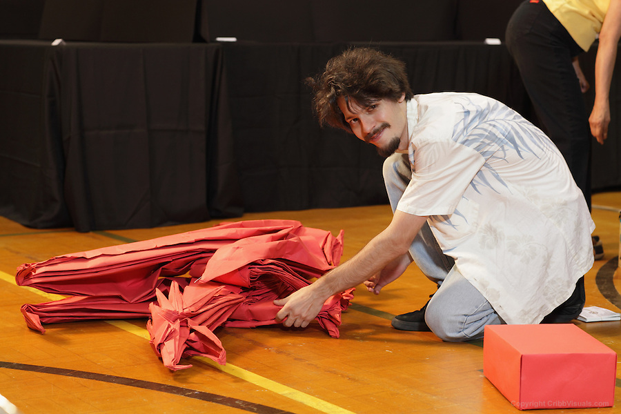 Origami Ancient Dragon Designed By Kamiya Folded By Macri Cribb