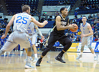 December 12, 2015 - Colorado Springs, Colorado, U.S. -  Army forward, Kennedy Edwards #10, drives the lane during an NCAA basketball game between the Army West Point Black Knights and the Air Force Academy Falcons at Clune Arena, U.S. Air Force Academy, Colorado Springs, Colorado.  Army West Point defeats Air Force 90-80.