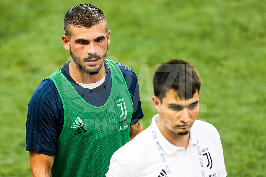 HARRISON, EUA, 21.07.2017 - BARCELONA-JUVENTUS - Stefano Sturaro da Juventus durante treino um dia antes da partida contra o Barcelona pela International Champions Cup na Red Bull Arena na cidade de Harrison nos Estados Unidos nesta sexta-feira, 21. (Foto: William Volcov/Brazil Photo Press)