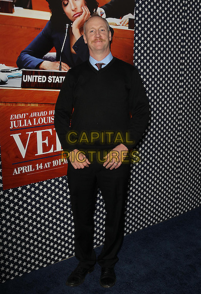 Matt Walsh.Los Angeles Premiere for the second season of HBO's series VEEP Held At Paramount Studios, Los Angeles, California, USA.  .April 9th, 2013.full length black top sweater jumper trousers .CAP/ADM/KB.©Kevan Brooks/AdMedia/Capital Pictures.