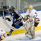 Brendan Mason (Yale - 22), John Muse (BC - 1) - The Boston College Eagles defeated the Yale University Bulldogs 9-7 in the Northeast Regional final on Sunday, March 28, 2010, at the DCU Center in Worcester, Massachusetts.