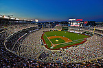 15 June 2012: A sellout crowd of 41,406 baseball fans watch the Washington Nationals host the New York Yankees at Nationals Park in Washington, DC. The Yankees defeated the Nationals 7-2 in the first game of their 3-game series. Mandatory Credit: Ed Wolfstein Photo