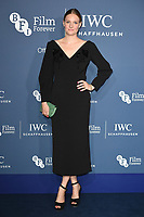 LONDON, UK. October 09, 2018: Ramola Garai arriving for the 2018 IWC Schaffhausen Gala Dinner in Honour of the BFI at the Electric Light Station, London.<br /> Picture: Steve Vas/Featureflash