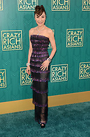 HOLLYWOOD, CA - AUGUST 7: Michelle Yeoh at the premiere of Crazy Rich Asians at the TCL Chinese Theater in Hollywood, California on August 7, 2018. <br /> CAP/MPI/DE<br /> &copy;DE//MPI/Capital Pictures