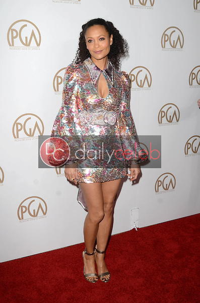 Thandie Newton<br /> at the 2017 Producers Guild Awards, Beverly Hilton Hotel, Beverly Hills, CA 01-28-17<br /> David Edwards/DailyCeleb.com 818-249-4998
